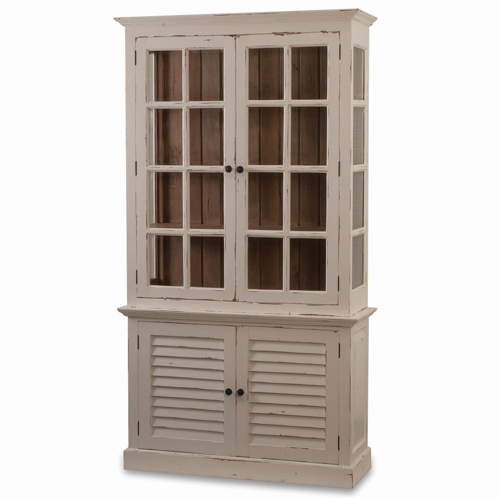 Bramble Company - Two Door Cottage Cabinet w/ Glass