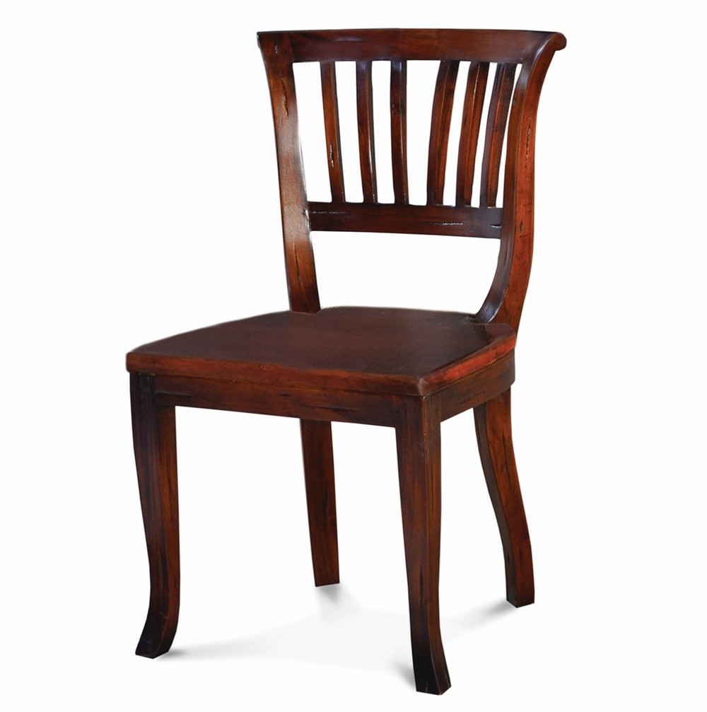 Bramble Company - Manchester Dining Chair w/ Wooden Seat