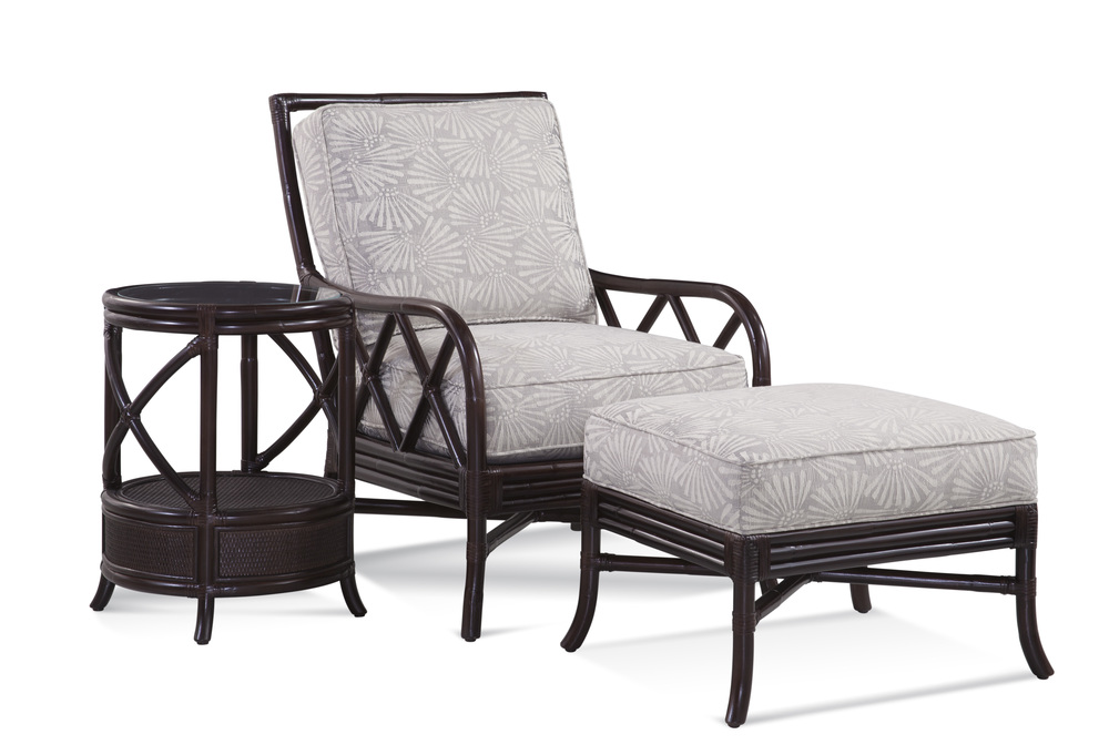 Braxton Culler - Santiago Chair and Ottoman