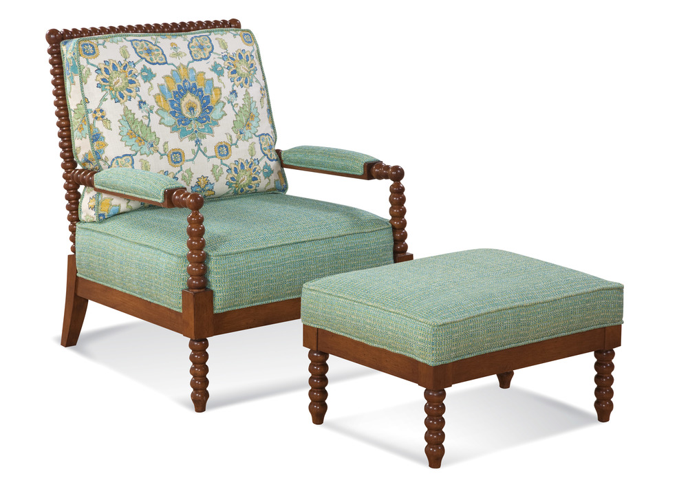 Braxton Culler - Lind Island Lounge Chair and Ottoman
