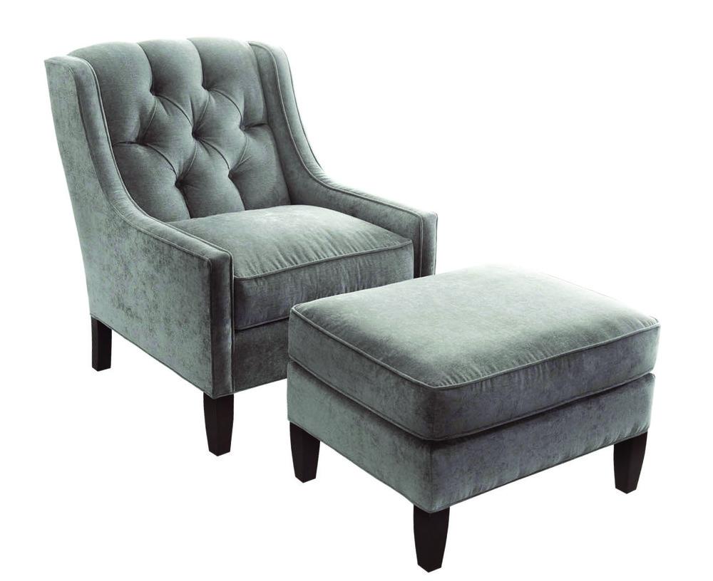 Braxton Culler - Merrill Chair and Ottoman