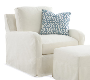 Thumbnail of Braxton Culler - Halsey Chair with Slipcover