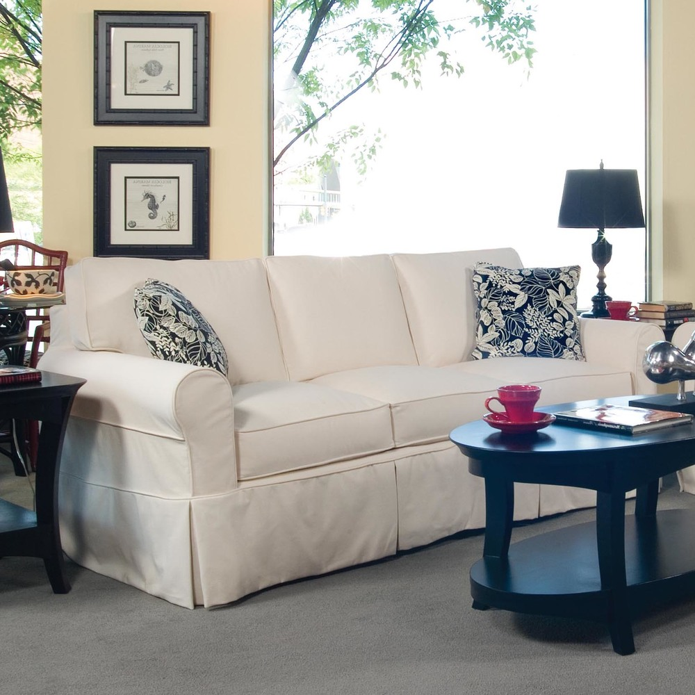 Braxton Culler - Bedford Queen Sleeper with Slipcover