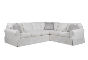 Thumbnail of Braxton Culler - Bedford 2 Piece Slipcover Sectional
