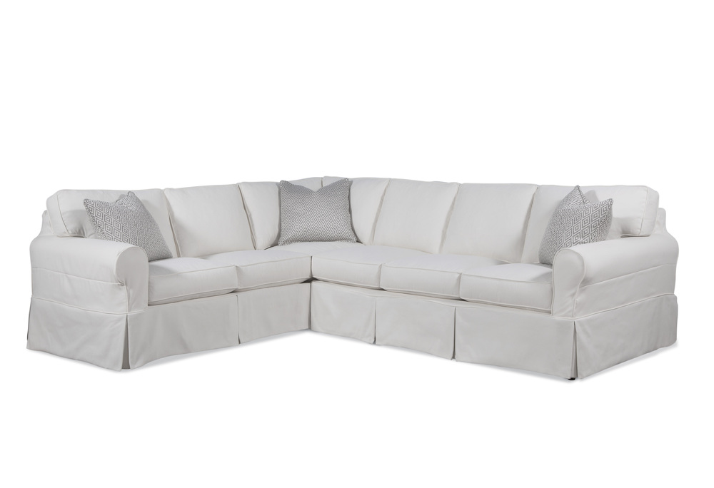 Braxton Culler - Bedford 2 Piece Slipcover Sectional
