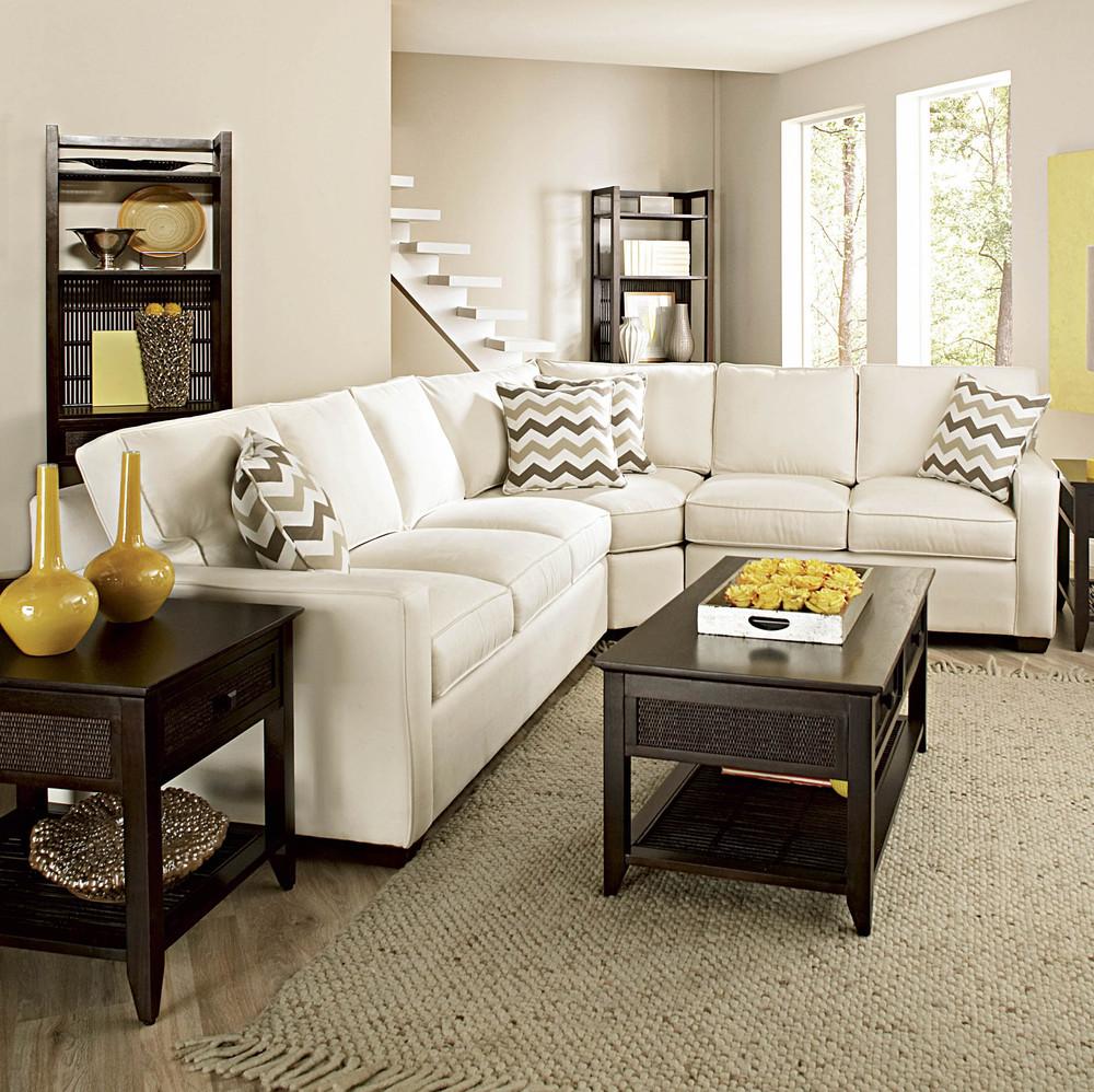 Braxton Culler - Gramercy Park Three Piece Wedge Sofa