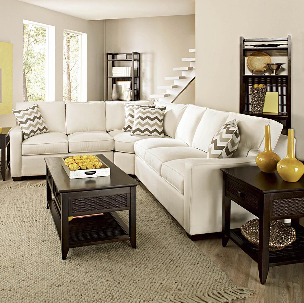 Braxton Culler - Gramercy Park 3 Piece Wedge Sofa