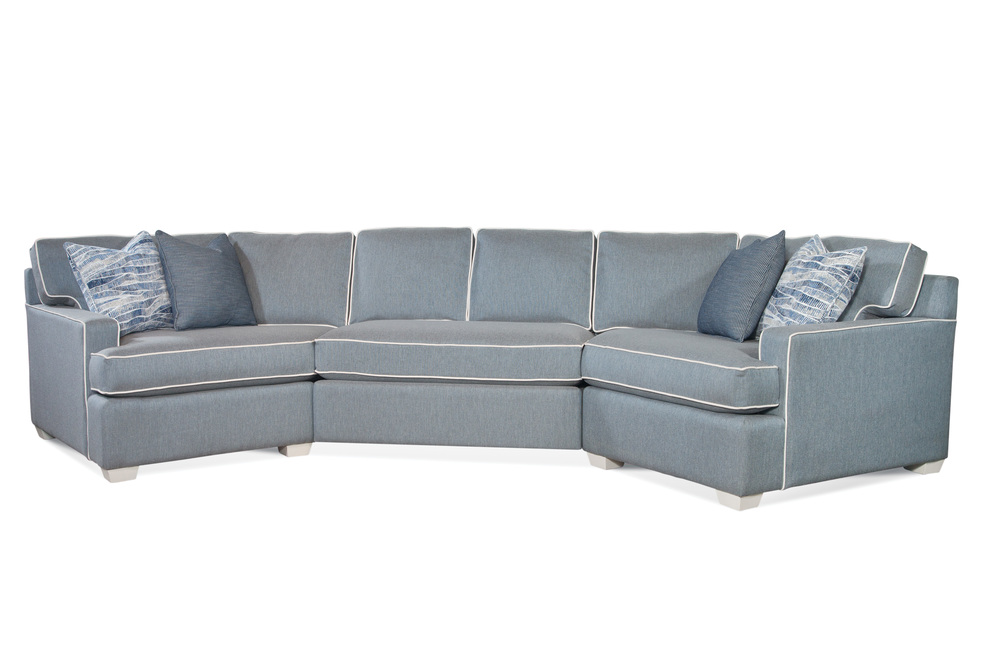 Braxton Culler - Gramercy Park 3 Piece Coversation Sofa