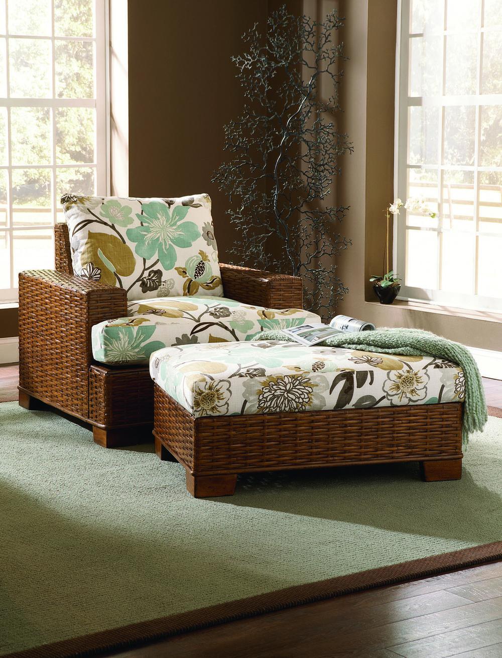Braxton Culler - Bali Chair and Ottoman