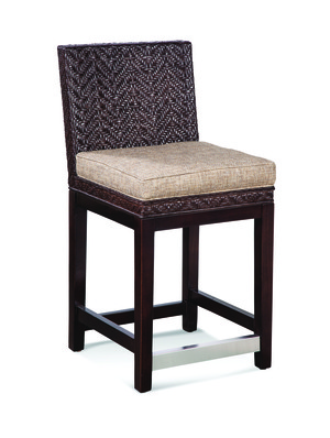 Thumbnail of Braxton Culler - Woven Top Counter Stool