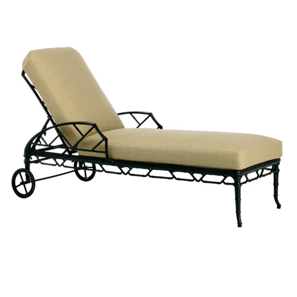 Brown Jordan - Adjustable Chaise w/ Wheels
