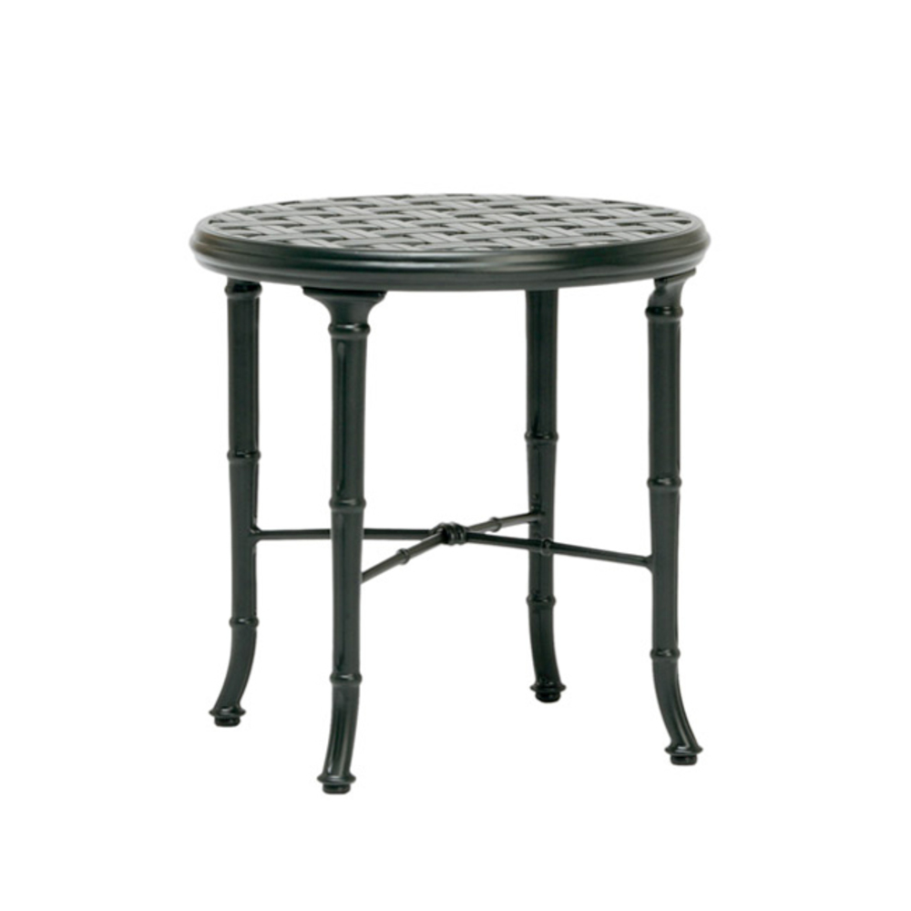 Brown Jordan - Round Cast Top Occasional Table