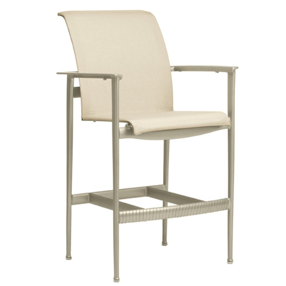 Brown Jordan - Bar Chair w/ Arms