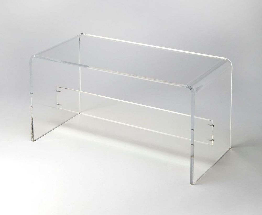 Butler Specialty - Crystal Clear Cocktail Table