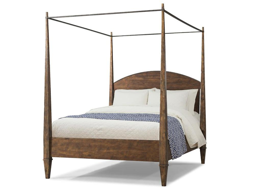 Klaussner Home Furnishings - Canopy Bed Complete