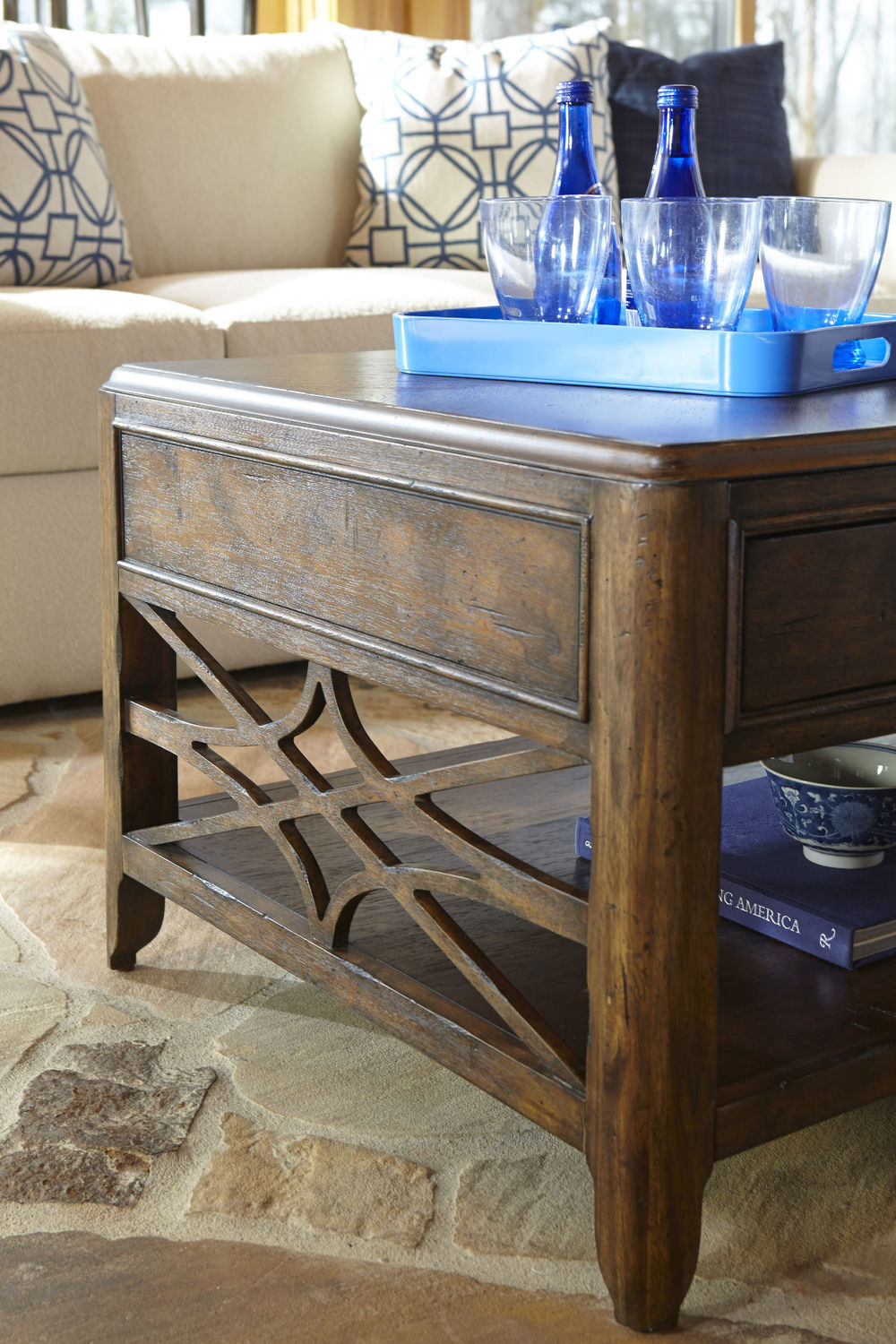 Klaussner Home Furnishings - Cocktail Table