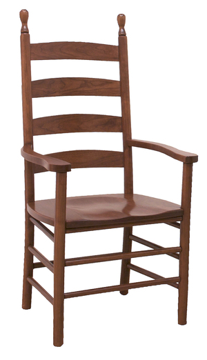 Thumbnail of Canal Dover - Shaker Ladderback Arm Chair