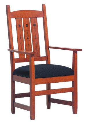 Thumbnail of Canal Dover - Eugene Inlay Arm Chair