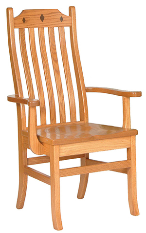 Thumbnail of Canal Dover - Diamond Mission Arm Chair