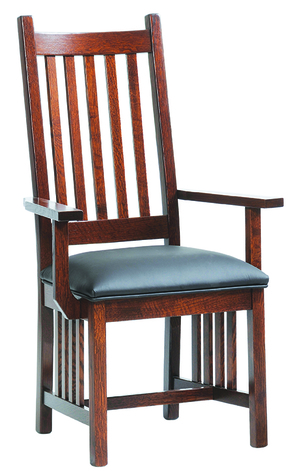 Thumbnail of Canal Dover - Mission Arm Chair