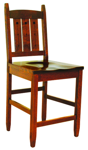 Thumbnail of Canal Dover - Eugene Inlay Bar Chair