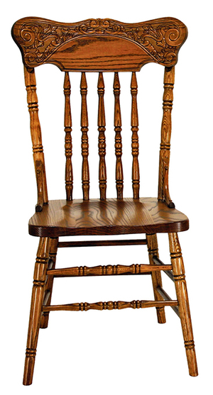Thumbnail of Canal Dover - Press Back Side Chair