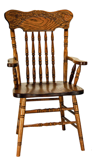 Thumbnail of Canal Dover - Press Back Arm Chair