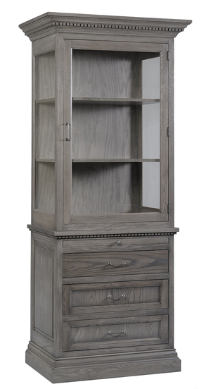 Thumbnail of Canal Dover - Whitby Right Hinge Hutch and Buffet, RSF