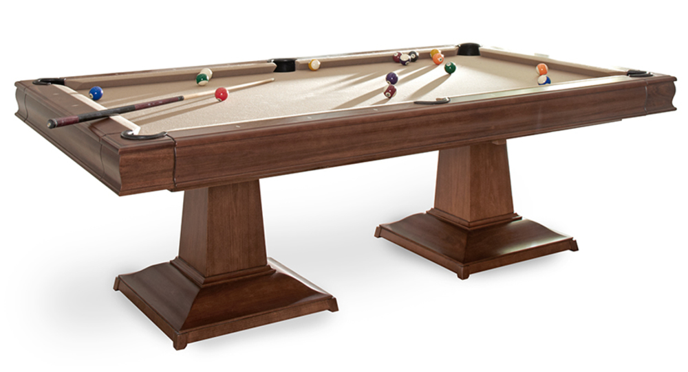 California House - Loft Internal Pocket Pool Table