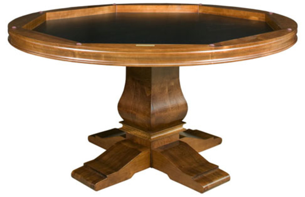 California House - Hillsborough Reversible Top Game Table with Storage