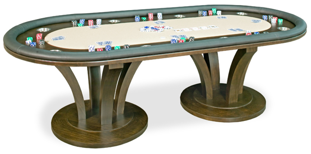 California House - Venice Fixed Top Texas Hold'em Table