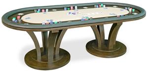 Thumbnail of California House - Venice Fixed Top Texas Hold'em Table