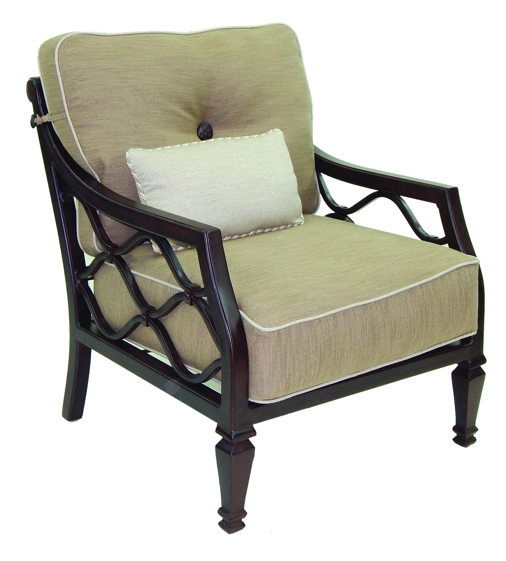 Castelle - Cushioned Lounge Chair