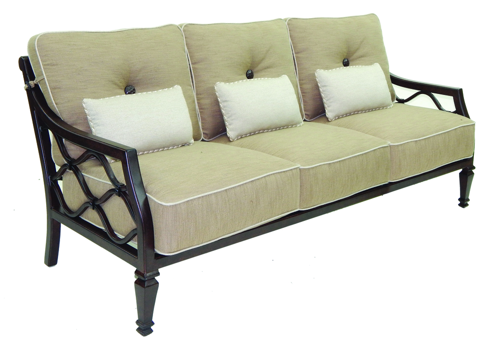 Castelle - Cushioned Sofa