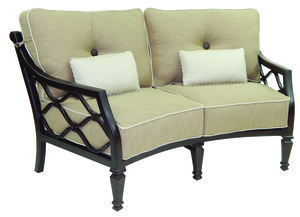 Thumbnail of Castelle - Cushioned Crescent Loveseat