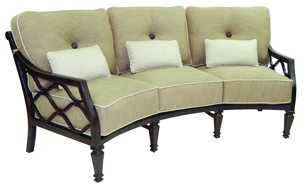 Castelle - Cushioned Crescent Sofa