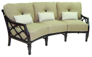 Thumbnail of Castelle - Cushioned Crescent Sofa