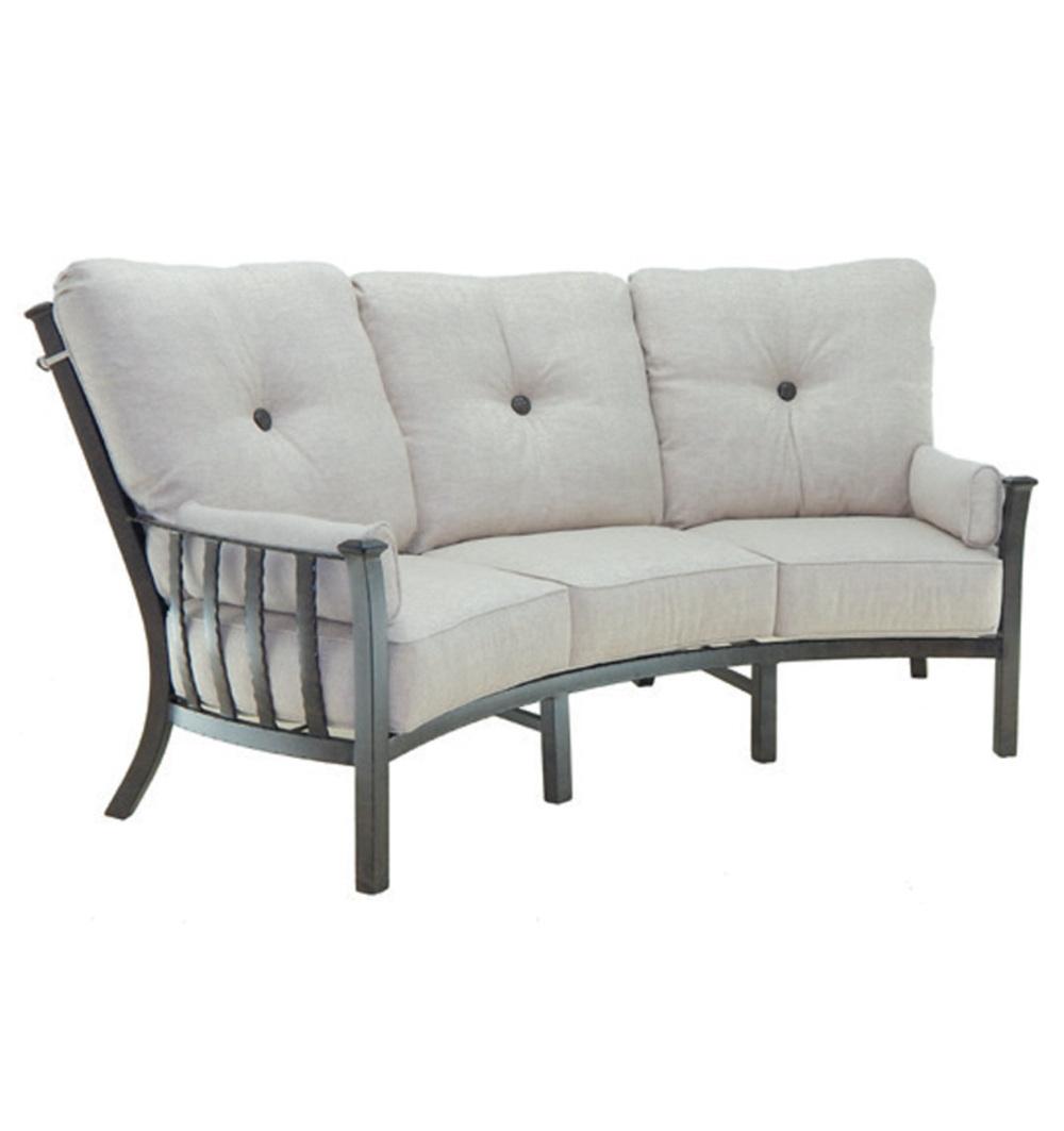 Castelle - Ultra High Back Crescent Sofa