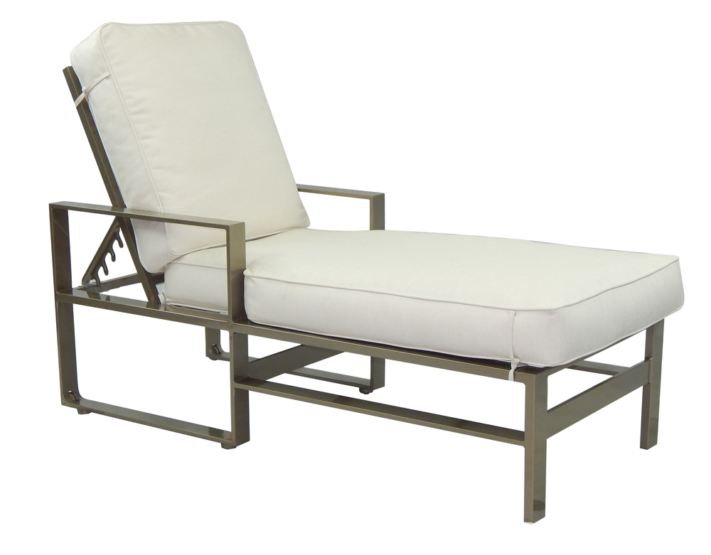 Castelle - Adjustable Cushioned Chaise Lounge