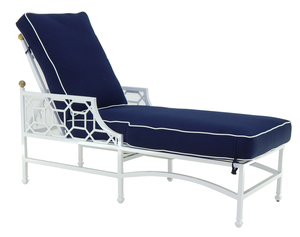 Thumbnail of Castelle - Adjustable Cushioned Chaise Lounge