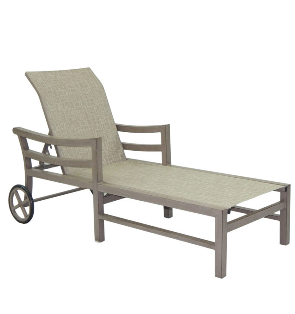 Castelle - Adjustable Sling Chaise Lounge