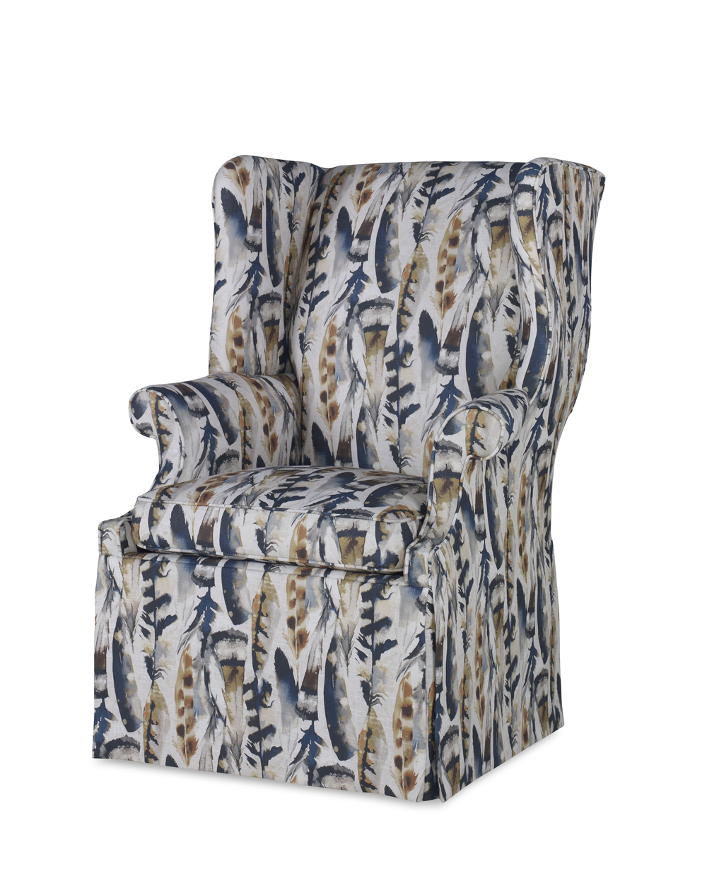 Century Furniture - Leo Skirted Wing Chair