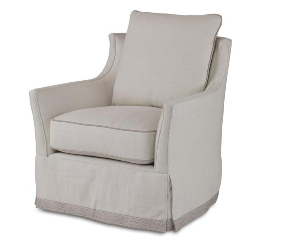 Century Furniture - Eyre Skirted Chair