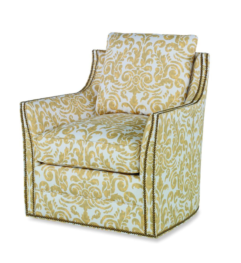 Century Furniture - Eyre Swivel Chair