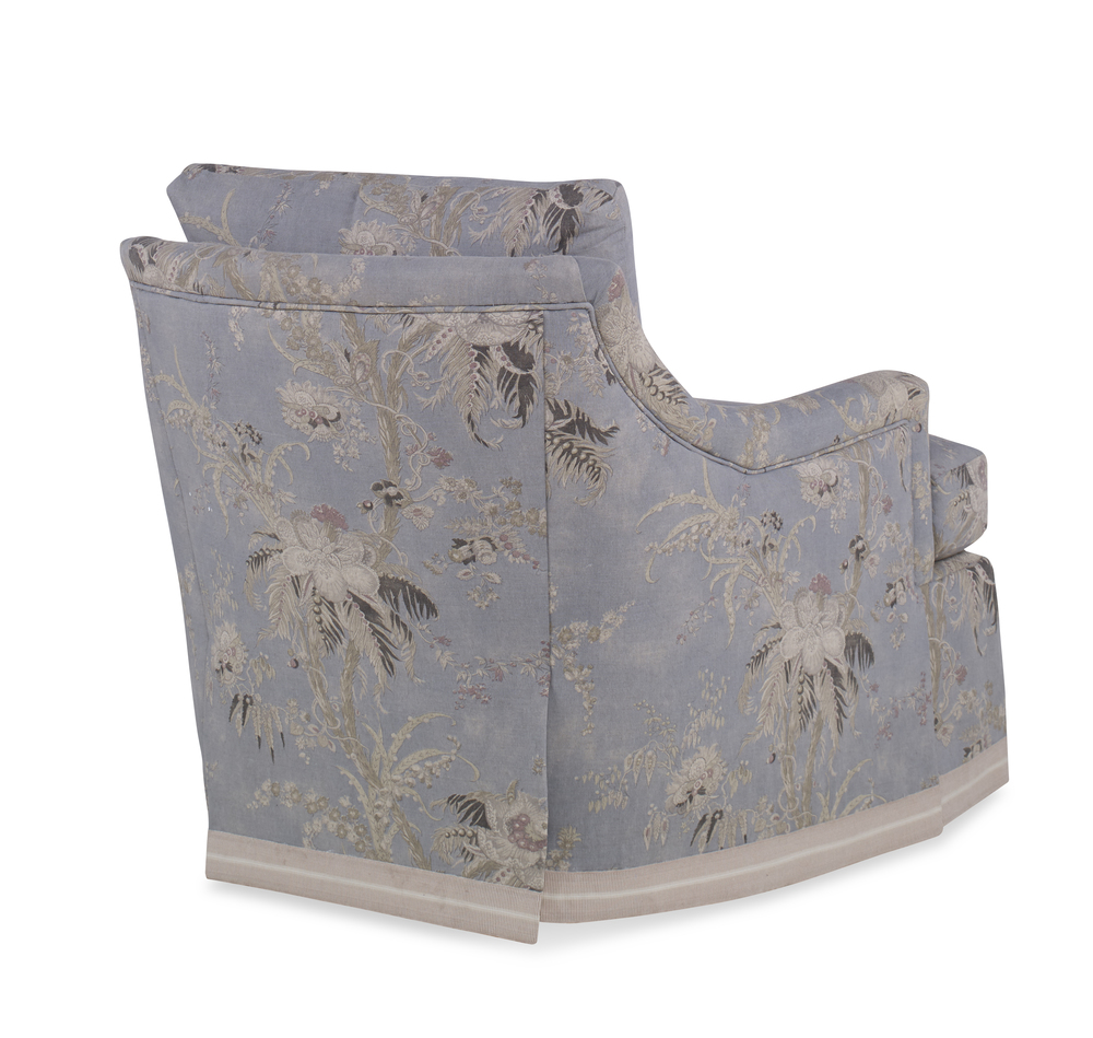 Century Furniture - Diana Skirted Swivel Chair