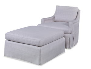 Thumbnail of Century Furniture - Diana Skirted Swivel Chair