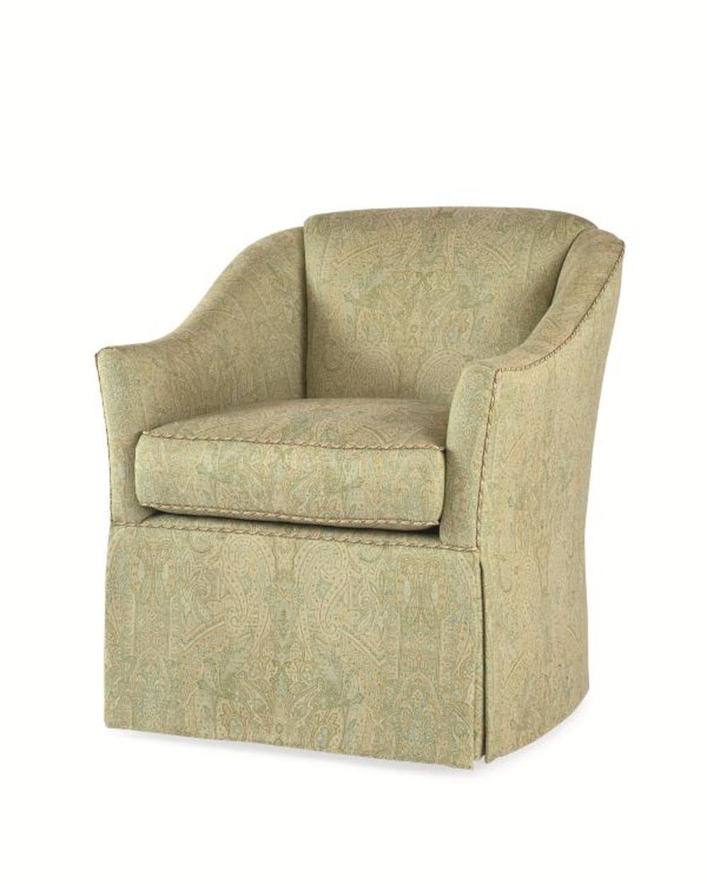 Century Furniture - Thompson Swivel Chair
