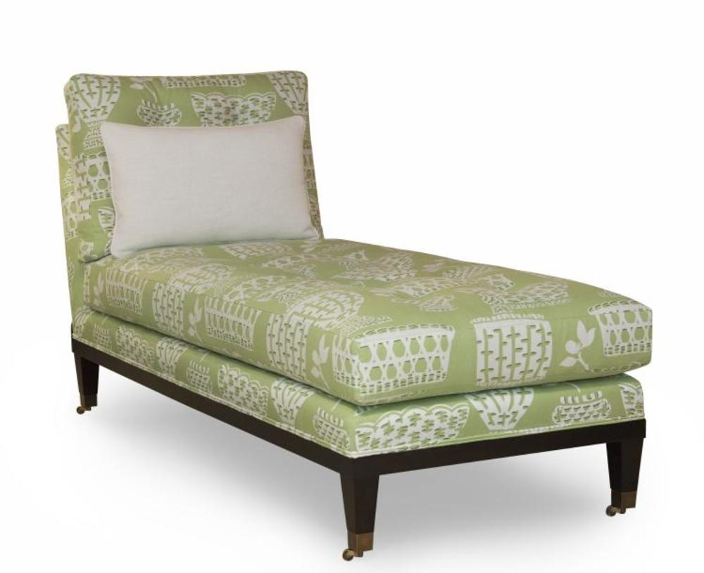 Century Furniture - Oliver Chaise w/out Casters