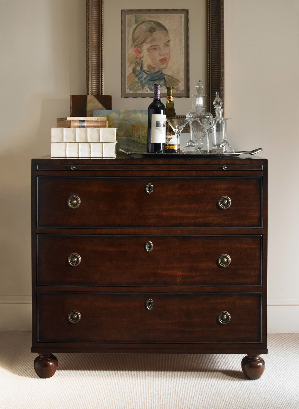 Century Furniture - Wellington Court Small Drawer Chest