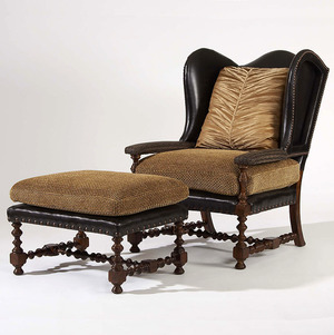 Thumbnail of Century Furniture - Cadbury Wing Chair